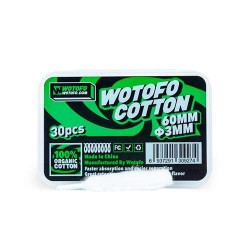 Wotofo Organic Cotton 60mm...